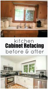 old kitchen cabinet ideas renew old kitchen cabinets faced