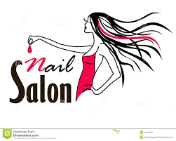 design nail salon logo