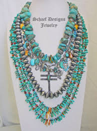 jewelry necklace turquoise images Schaef designs native american southwestern turquoise bridle jpg