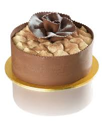 giotto gateau our famous chocolate mousse topped with tiramisu