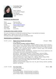 Merchandiser Resume Francesca Patti Cv