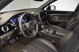 bentley steering wheel at night 2017 bentley bentayga stock b1293 for sale near westport ct