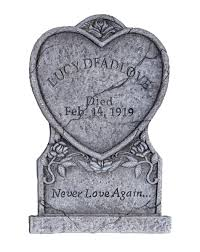 lucy deadlove tombstone u2013 spirit halloween new orleans square