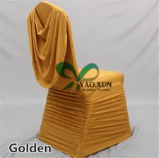 gold spandex chair covers discount gold ruffled chair covers 2017 gold ruffled chair
