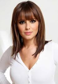 above shoulder tapered around face hairstyle the 25 best bangs medium hair ideas on pinterest shorter length
