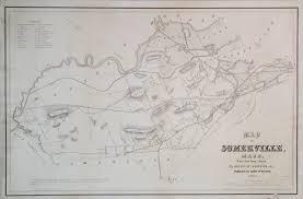 Map Of Mass A Rare Map Of Somerville Mass Rare U0026 Antique Maps