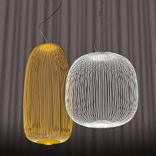 2 Pendant Light Fixture Modern Design Foscarini Spokes 1 2 Pendant Lamp By Garcia Cumini