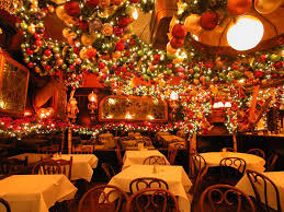 Christmas Decorations In Las Vegas What New York Restaurants Have The Best Christmas Decor