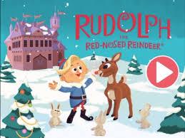 rudolph red nosed reindeer tv movie storybook