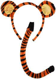 amazon com elope disney u0027s winnie the pooh tigger ears u0026 tail set