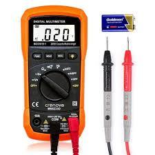 multimeter crenova ms8233d auto ranging digital multimeter ac