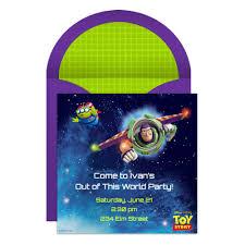 toy story party online invitation disney family