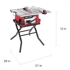 skil portable table saw incredible genesis 10 in 15 amp portable table saw with stand