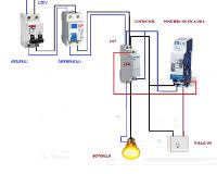 electrical diagrams clock timer contactor ladder 4 wires