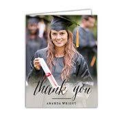 graduation thank you notes graduation thank you cards paperstyle