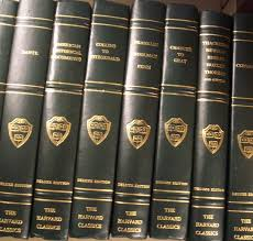 the harvard classics deluxe edition registered edition charles w