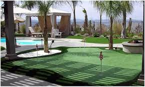 backyard putting greens cost home outdoor decoration