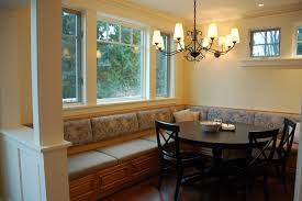 banquette with round table banquette table round vs rectangular