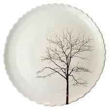 porcelain sitges tree dinner plate new york makers