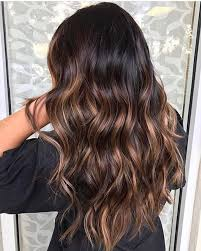long brown hairstyles with parshall highlight 6 hot partial highlights ideas for brunettes hair fashion online