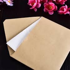 wedding gift envelope wallet envelope 50 kraft paper envelope wedding gift