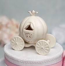 cinderella carriage cake topper porcelain cinderella pumpkin coach cake topper