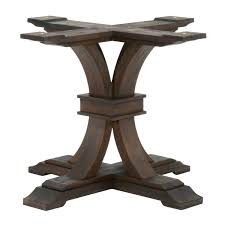 bases for glass dining room tables metal pedestal base for dining