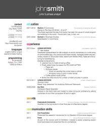 Good Resume Example by Latex Resume Template Berathen Com