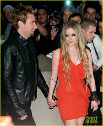avril lavigne black wedding dress avril lavigne chad kroeger separate after 2 years of marriage