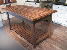 kitchen 40 simple rustic kitchen island table walnut american