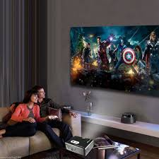 3d home theater projector 3000 lumens hd home theater multimedia led projector amazon co uk