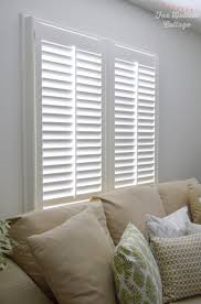 our cottage home and new plantation shutters from blinds com fox
