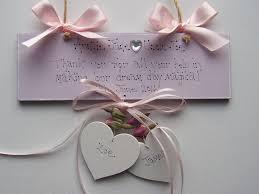 Wedding Keepsake Gifts Personalised Wedding Thank You Mum Dad Plaque Keepsake Gift Sign