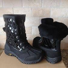 ugg womens quilted boots ugg australia w adirondack ii quilted boots size 8 eu 39 ebay