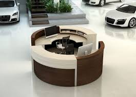 Circular Reception Desk Best 25 Modern Reception Desk Ideas On Pinterest Reception