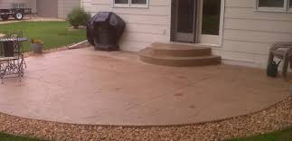 Dyed Concrete Patio by Stamped Concrete Patios Cost Home Design Ideas And Pictures