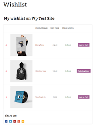 wish list yith woocommerce wishlist plugins