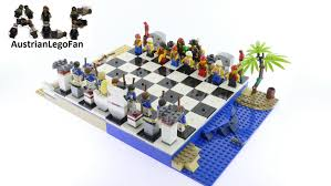 lego pirates 40158 pirate chess set lego speed build review