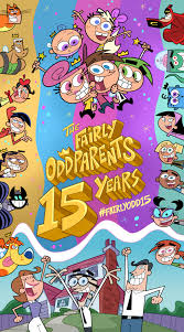the fairly oddparents premiered 15 years ago today along with
