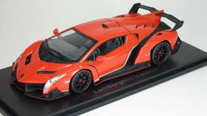 Lamborghini Veneno Model - kyosho 1 43 lamborghini veneno orange red line