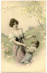 vintage mother u0027s day cards capture the beauty of days gone by