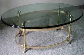 Brass Coffee Table by La Barge Petite Brass Coffee Table Julesmoderne Com