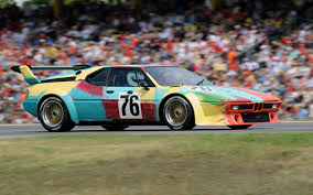 pixel art car bmw m1 group 4 art car by andy warhol 1979 wallpapers and hd