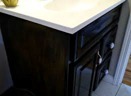 Black Painted Bathroom Cabinets Painting Bathroom Vanity Realie Org
