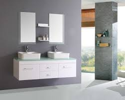 bathroom bathroom wall cabinets white wooden vanities frosted