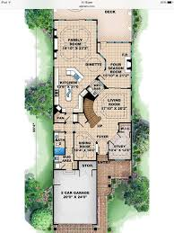 narrow house floor plans 14 best floor plans for narrow lots images on floor