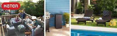 Outdoor Furniture Amazon by Amazon Com Keter Harmony Indoor Outdoor Stackable Patio