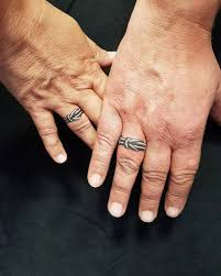 wedding ring tattoo ideas amazing designs for couples