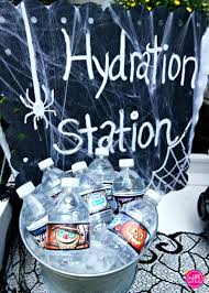 diy halloween hydration station my life and kids