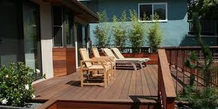 deck size u0026 height landscaping network